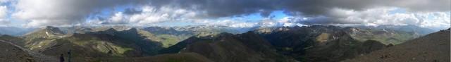 Panorama Col de la Bonette