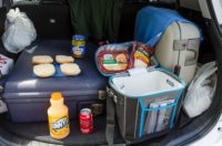 Picknick unterwegs