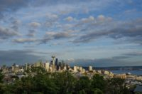 Seattle-Skyline vom Kerry Park