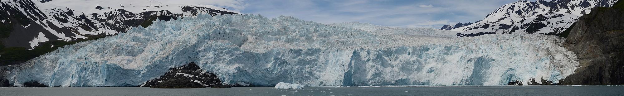 Aialik-Gletscher Panorama