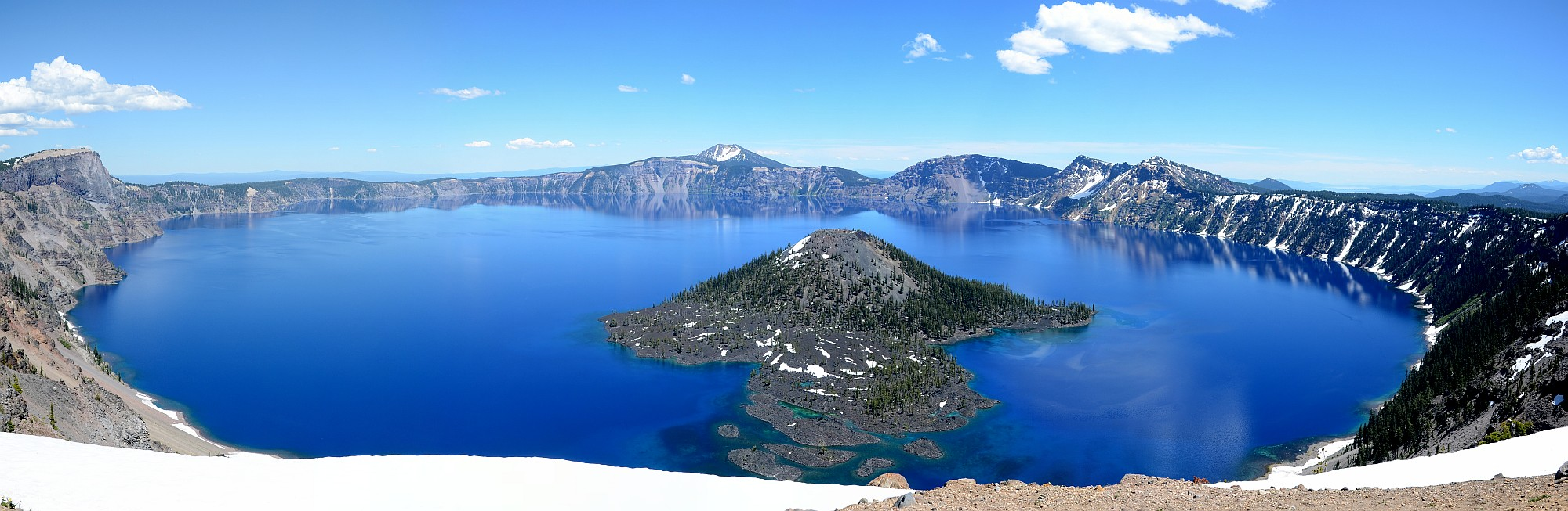 Crater Lake NP Panorama