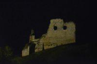 Ruine beleuchtet