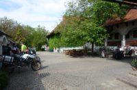 unser Hotelparkplatz
