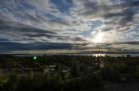 Anchorage um 21:41 Uhr