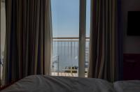 Rabac Hotel Valamar - Ausblick vom Bett aufs Meer